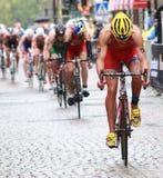 Pièce de cycle du triathlon-2 Images stock