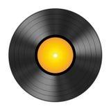 Pièce de disque de vinyle longue illustration de vecteur