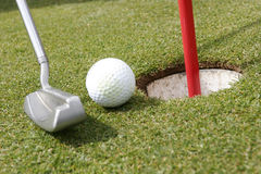 Pièce de golf Photo libre de droits