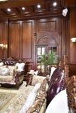 pièce de luxe vivante à la maison photo stock