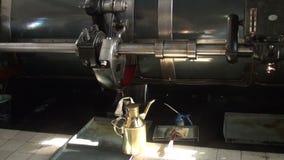 Pièce de machine de station de pompage historique de vapeur banque de vidéos