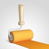 Pièce de maison de peinture Maison de rénovation graphisme 3D Photo libre de droits