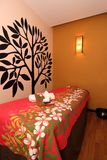 Pièce de massage de station thermale Photographie stock