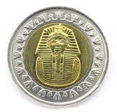 Pièce de monnaie égyptienne Photo libre de droits