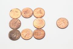 Pièce de monnaie Photos libres de droits