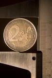 pièce de monnaie 3 neuve Photographie stock libre de droits