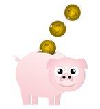 Pièce de monnaie animale Image libre de droits