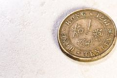 Pièce de monnaie chinoise antique Images stock