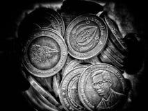Pièce de monnaie de baht Images stock