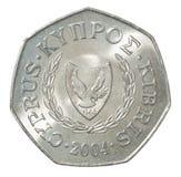 Pièce de monnaie de cents de la Chypre Image stock