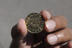 pièce de monnaie de 20 couronnes photo libre de droits
