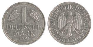 Pièce de monnaie de Deutsche Mark Image libre de droits
