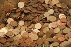 Pièce de monnaie de la devise de la Thaïlande photographie stock libre de droits