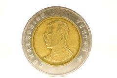 Pièce de monnaie de la Thaïlande Photo stock