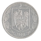 Pièce de monnaie de Lei de 500 Roumains photos libres de droits