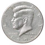 Pièce de monnaie de liberté Image libre de droits