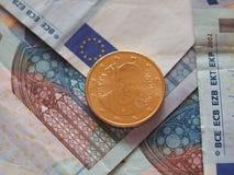 Pièce de monnaie de pape Francis I Photographie stock libre de droits