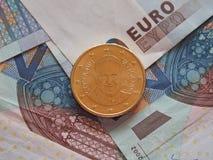 Pièce de monnaie de pape Francis I Photos stock