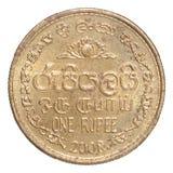 Pièce de monnaie de Sri Lanka Photo stock