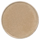 Pièce de monnaie en bronze Photo libre de droits