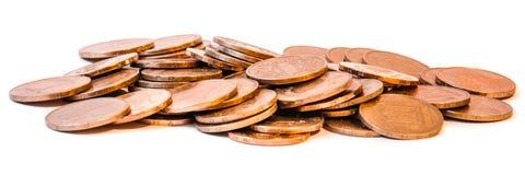 Pièce de monnaie en métal de Hryvnia Photographie stock libre de droits