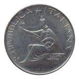 Pièce de monnaie italienne Photo stock