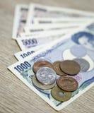 Pièce de monnaie japonaise 100yen Photo stock