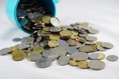 Pièce de monnaie malaisienne Photographie stock libre de droits