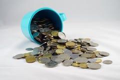 Pièce de monnaie malaisienne Image libre de droits