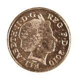 Pièce de monnaie neuve de penny du type Dix Photos stock