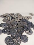 Pièce de monnaie norvégienne, couronne Images stock