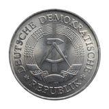 pièce de monnaie RDA Photographie stock