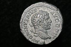 Pièce de monnaie romaine Image libre de droits