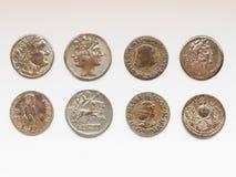 Pièce de monnaie romaine Photographie stock libre de droits