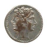 pièce de monnaie romaine Photo libre de droits