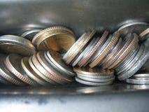 Pièce de monnaie thaïe de baht Photos stock