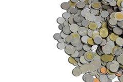Pièce de monnaie thaïlandaise de baht Photographie stock