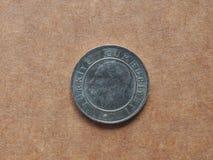 Pièce de monnaie turque Photo stock