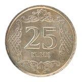Pièce de monnaie turque de kurus Photo stock