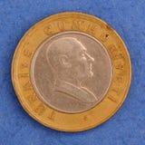 Pièce de monnaie turque en métal Photographie stock