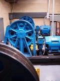Pièce de moteur d'ascenseur Image stock