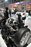 Pièce de moteur de voiture Image libre de droits