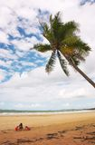 Pièce de plage Photos libres de droits