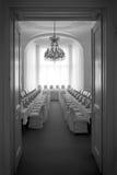 Pièce de réception de mariage Images libres de droits