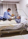 Pièce de rétablissement dans l'hôpital Photographie stock libre de droits