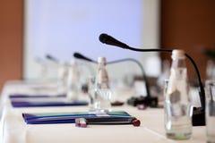 Pièce de réunion d'affaires Image libre de droits