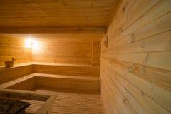 Pièce de sauna Photos stock