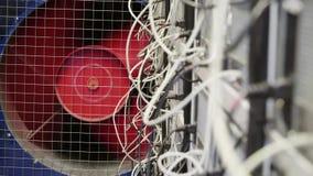 Pièce de serveur pour les fermes de extraction de crypto devise avec le refroidisseur rouge tournant énorme banque de vidéos