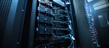 Pièce de serveur de réseau image stock