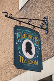 Pièce de thé de Clarindas à Edimbourg Photographie stock libre de droits